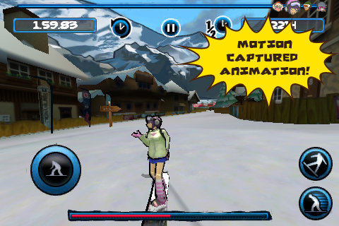 Screenshot X2 Snowboarding Review