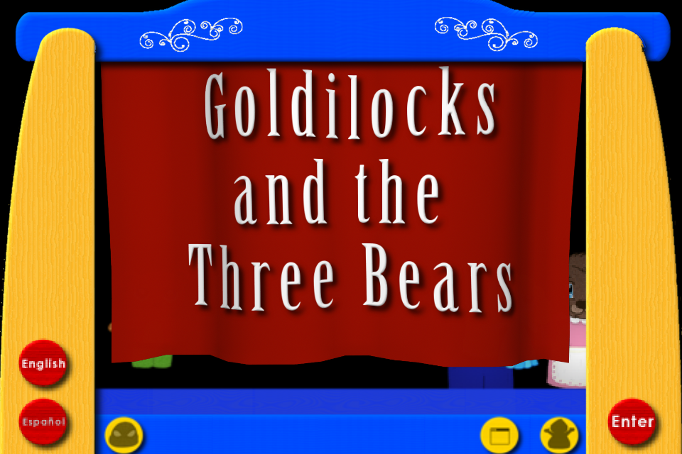 Screenshot Goldilocks and the Three Bears – The Puppet Show